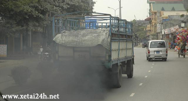 xe tải không đạt tiêu chuẩn khí thải sẽ không được vào thành phố