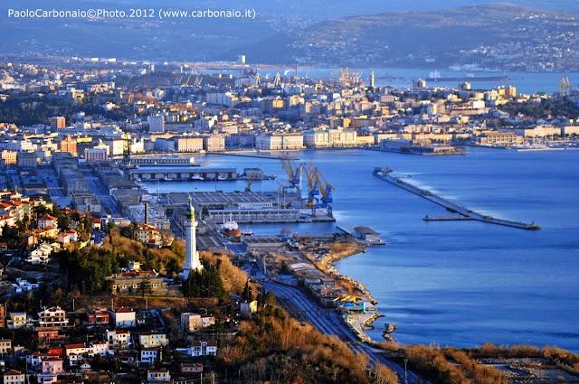 Dati di traffico al porto di Trieste
