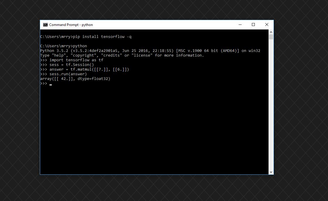 Build Tensorflow Documentation On Windows