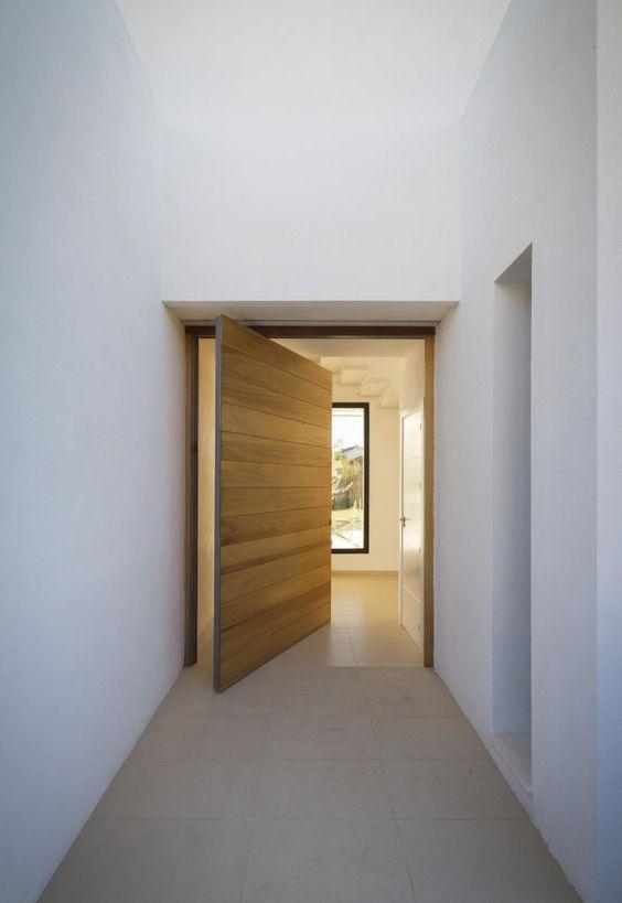 Bridoor s l puertas de madera ocultas para viviendas - Puertas para viviendas ...