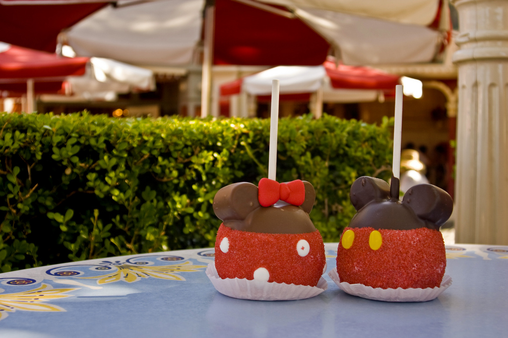 Disney Springs Candy Cauldron Mickey and Minnie Mouse