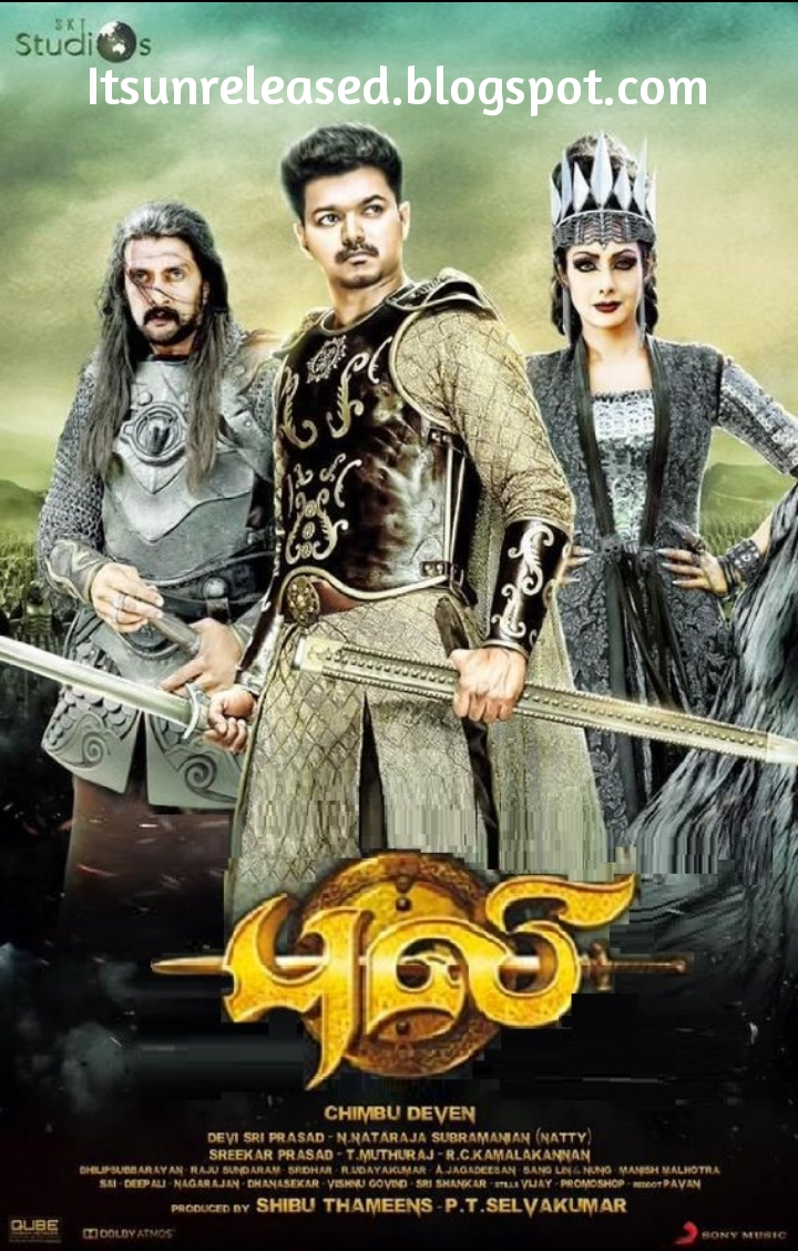 Puli Official Poster Download Puli (2015) H...