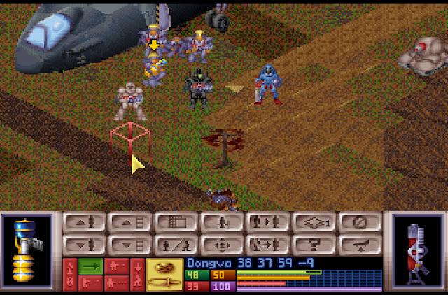 Open Xcom - Concussive Cannon Screenshot