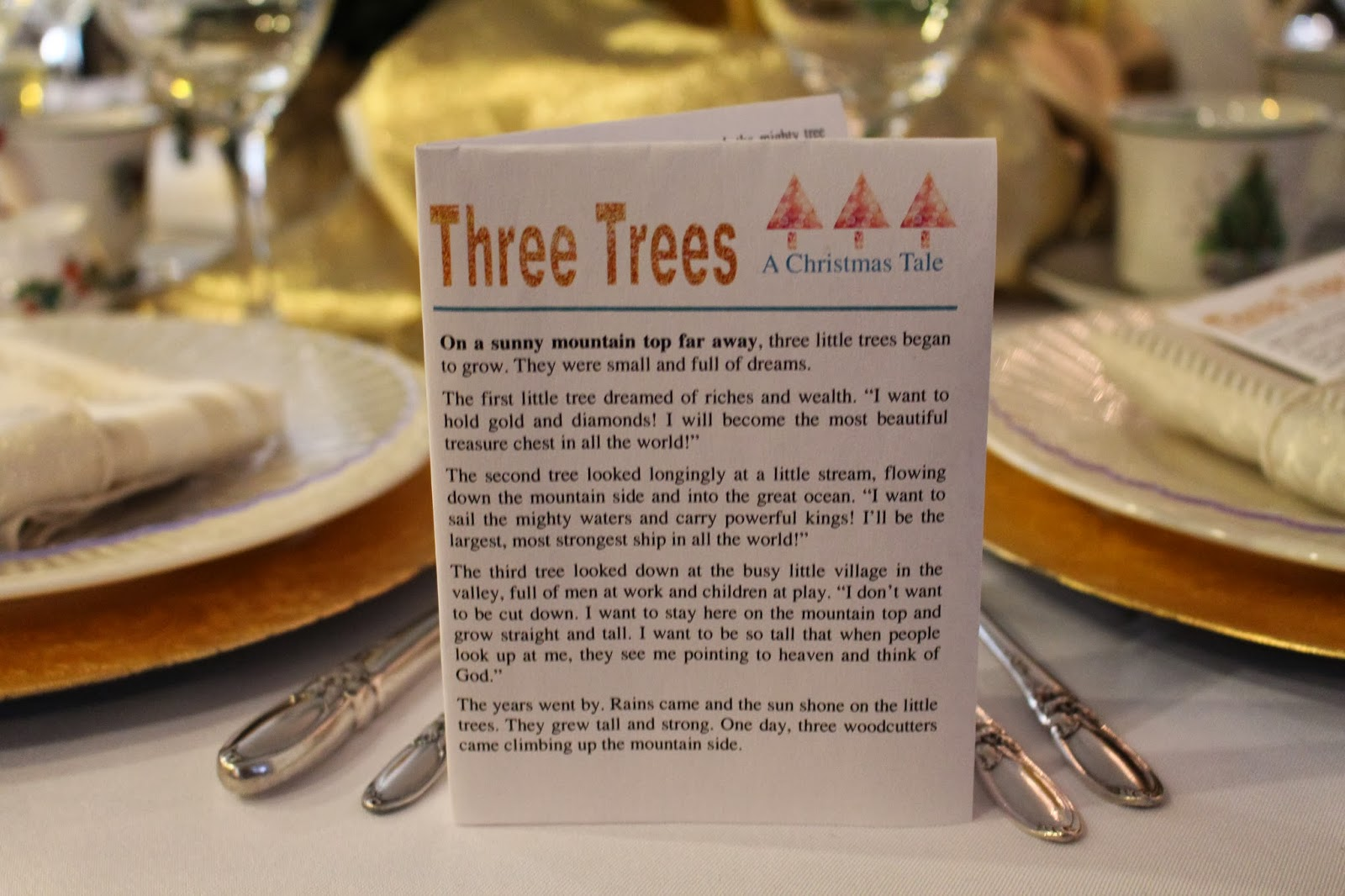 Atwp The Tale Of Three Trees Activity Pack