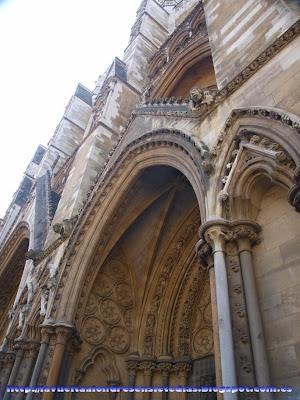 Portada de la Abadía de Westminster
