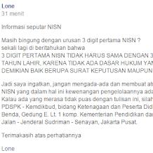 Informasi Seputar NISN Terbaru