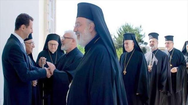 Al-Asad ante patriarcas: Siria ha frustrado la guerra terrorista