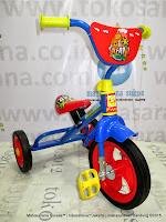 pmb 919 safari blue sepeda roda tiga bmx