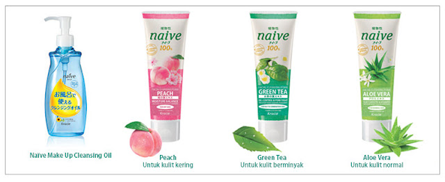 "NAIVE ""Facial Cleansing Foam"""