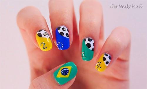 Lindisima Blog Uñas Decoradas Para El Mundial De Futbol
