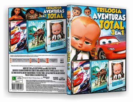 CAPA DVD – TRIOLOGIA AVENTURAS TOTAL 3.EM.1 – ISO