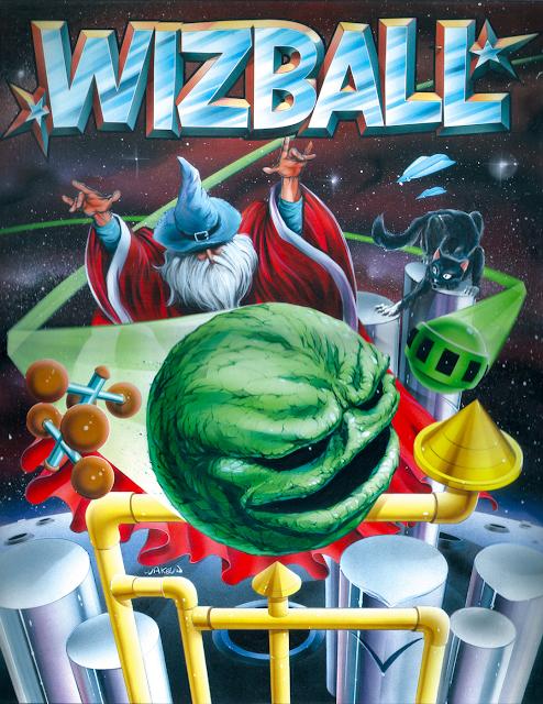 Wizball - Bob Wakelin