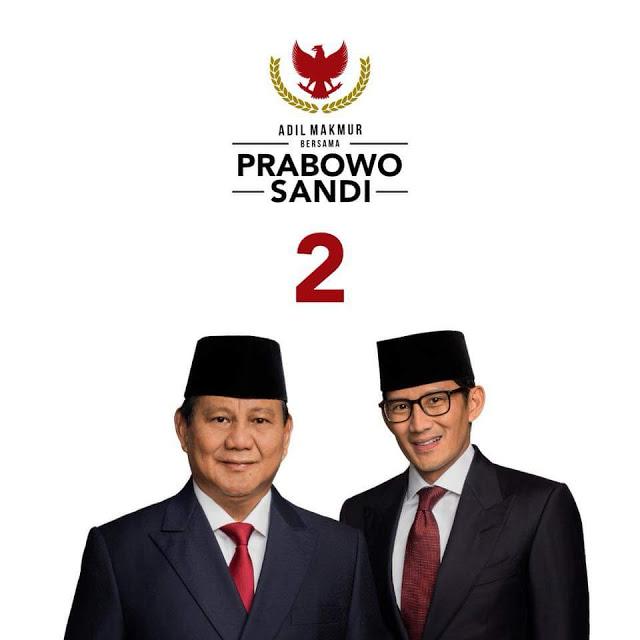 Pedagang Pasar Deklarasikan Dukungan Untuk Prabowo-Sandi