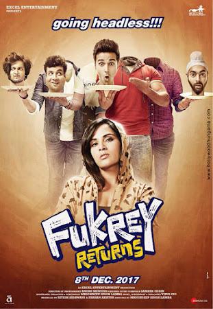 Fukrey Returns (2017) Movie Poster