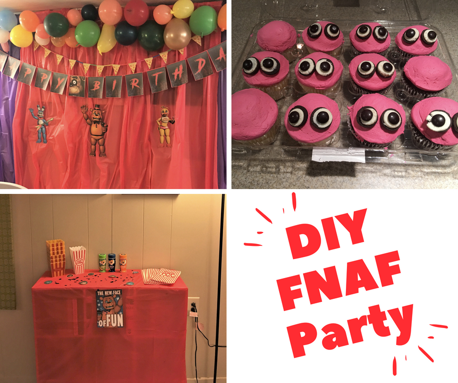 The Smart Momma Diy Five Nights At Freddy S Party