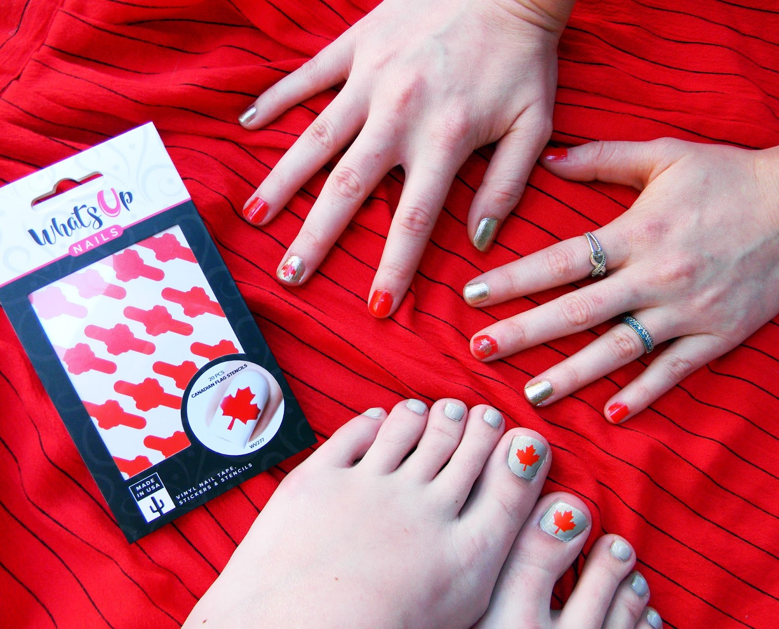 How To Rock a Maple Manicure (Plus FREE Nail Vinyls For You To Try ...