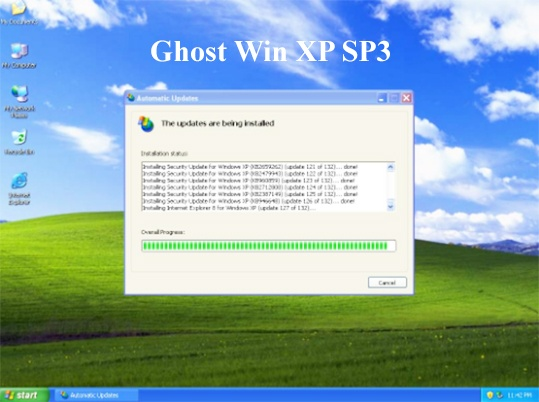 BAN GHOST WIN XP SP3 CHUAN TU NHAN DRIVER WINDOWS XP