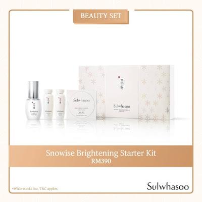 Sulwhasoo Snowise Brightening Starter Kit