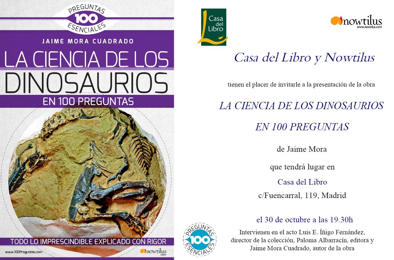 Ediciones Nowtilus: Presentación De LA CIENCIA DE LOS
