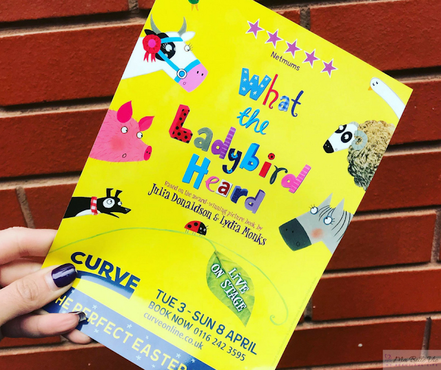 tips, children, family, theatre, what the ladybird heard, Julia Donaldson, Curve, Leicester