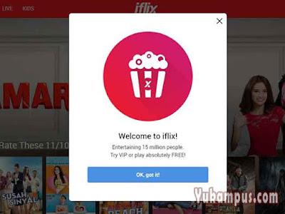 daftar iflix web