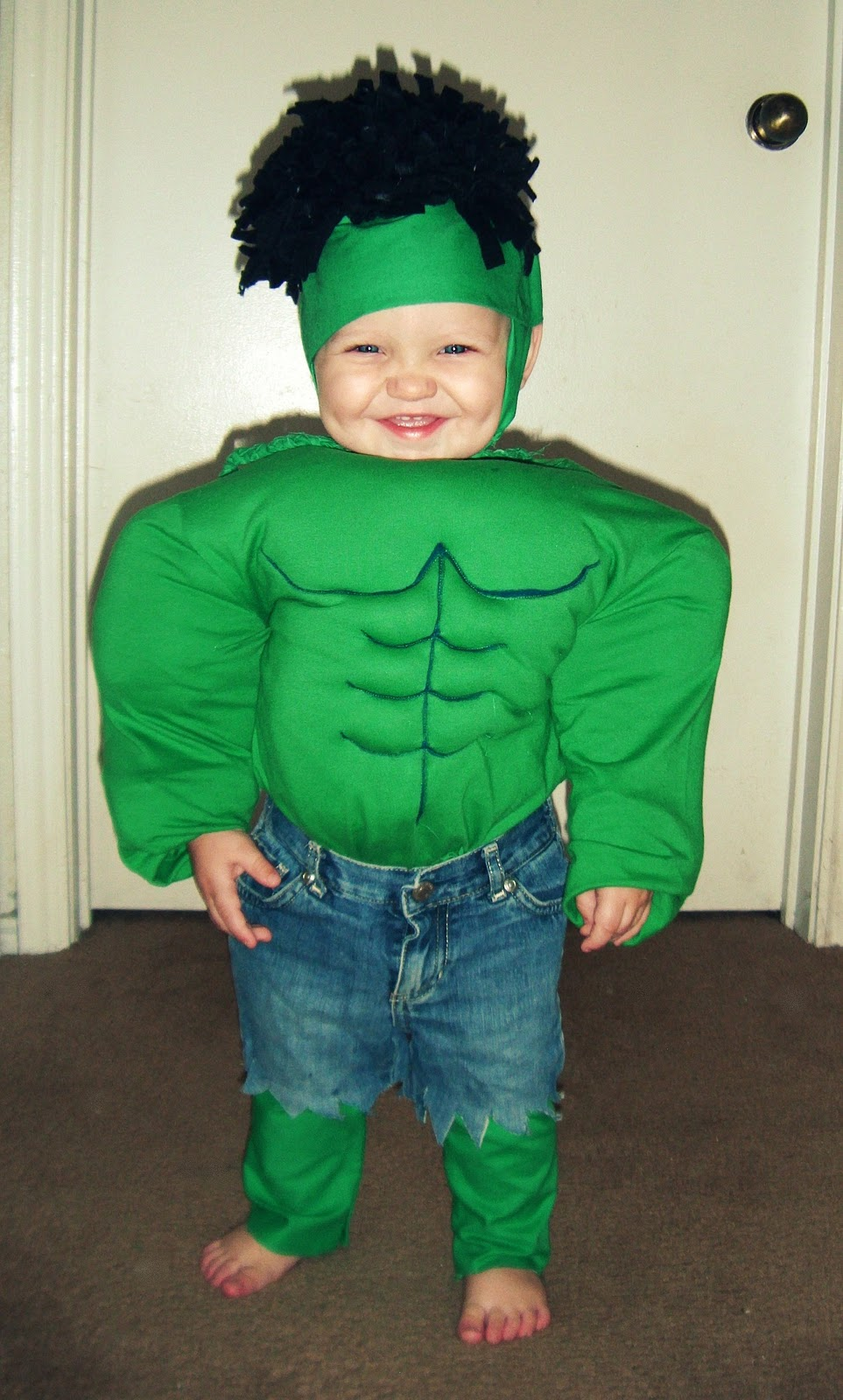 Very Merry Vintage Syle Craft Room Inspiration Share. SaveEnlarge · The Gallery For Gt Homemade Hulk Costume Kids  sc 1 st  Meningrey & Infant Incredible Hulk Costume - Meningrey