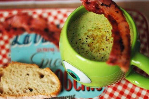 recette soupe de petits pois et bacon grill juliette kitsch blog mode beaut lifestyle. Black Bedroom Furniture Sets. Home Design Ideas