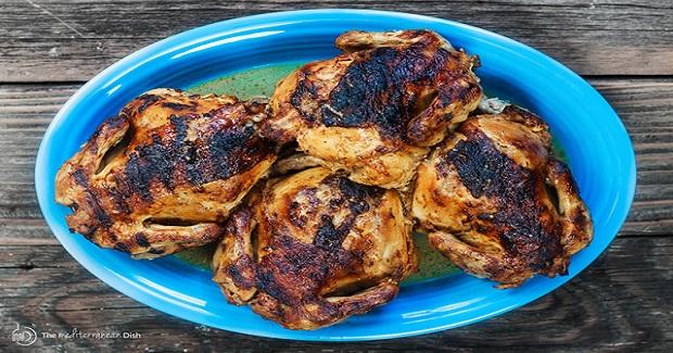 Cornish Hen Recipe With Mediterranean Gerlic-Spice Rub Recipe