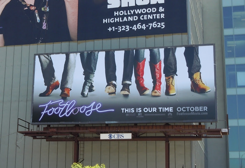 Footloose teaser movie billboard