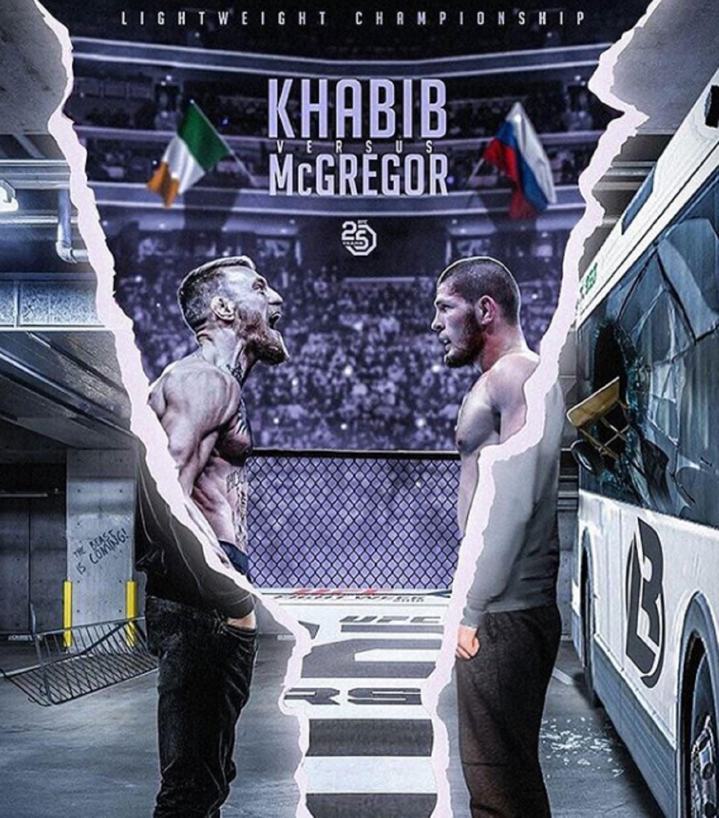 CONOR MCGREGOR VS.  KHABIB NURMAGOMEDOV 3