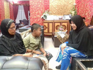 Putra Novaldi Bertemu Dengan Walikota Padang