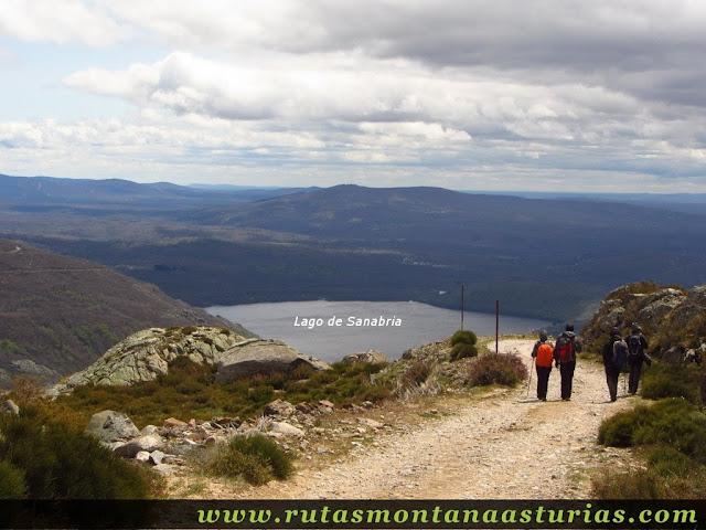 Lago  de Sanabria desde parte alta