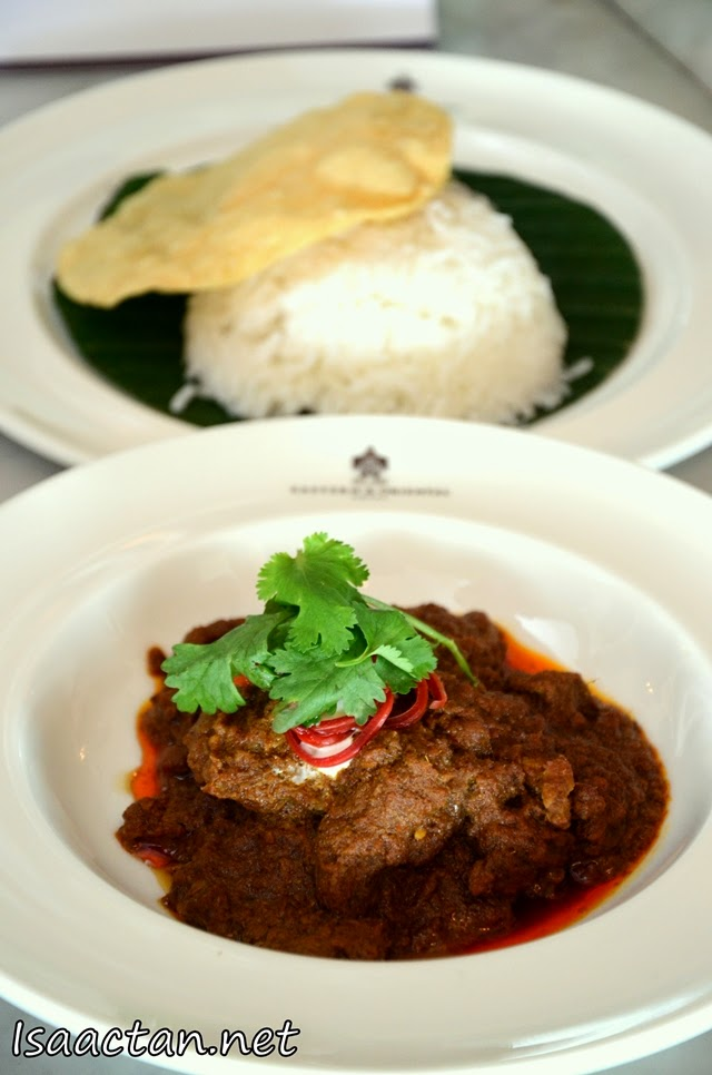 #4 Beef Rendang with Rice
