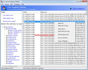 Eusing Free Registry Cleaner Download Full Setup