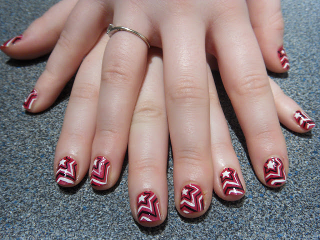 How to make nail art at home by sauleha choudhary