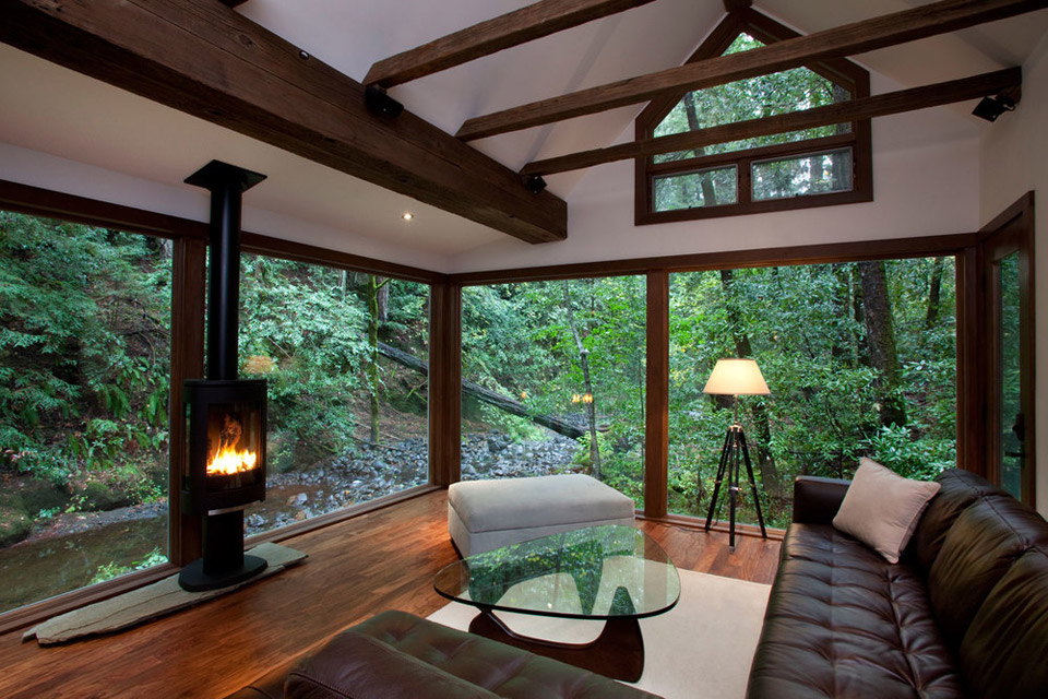 1920s Creekside Cabin Restored By The Well Appointed Catwalk