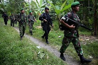 Sebelum Dilumpuhkan, Anak Buah Santoso sempat Lempar Bom Rakitan - Commando