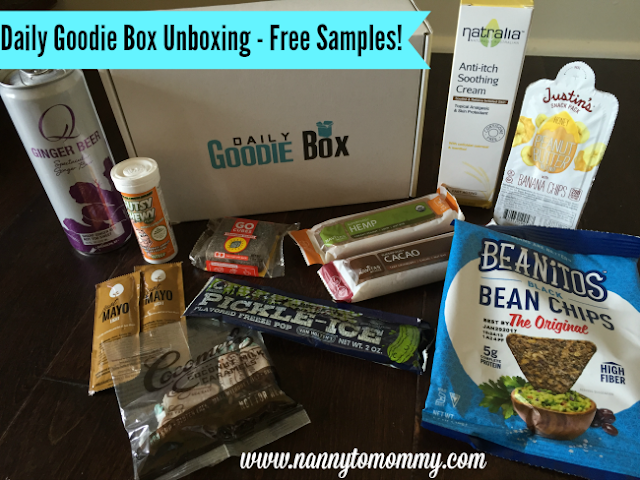 FREE Samples - Daily Goodie Box Unboxing