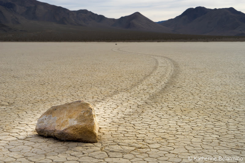 Racetrack Playa Death Valley Road Trip Itinerary