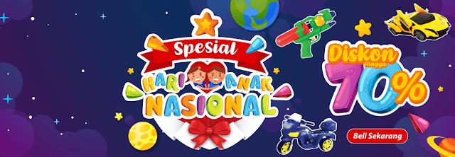 Alfamart - Promo Hari Anak Nasional 2018 Ada Diskon s.d 70% di Alfacart