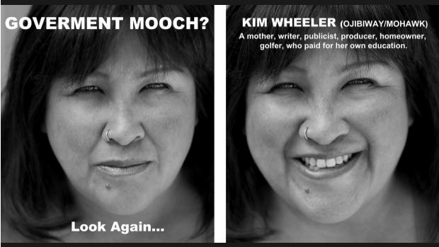Kim Wheeler portrait. Part of Perception series by KC Adams