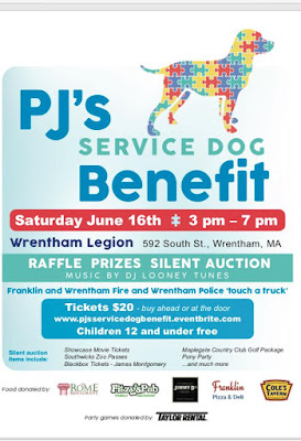PJ's Service Dog Benefit - June 16