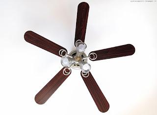 Klarstein Charleston Lampadario Ventilatore da Soffitto