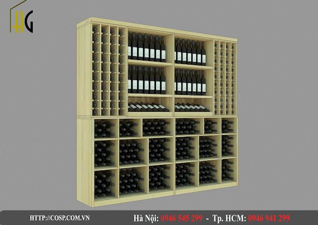 tủ trưng bày rượu giá rẻ