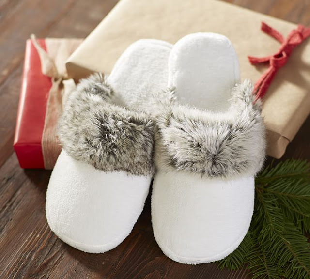 Pottery Barn: Slippers only $14 (reg $30) + Free Shipping!