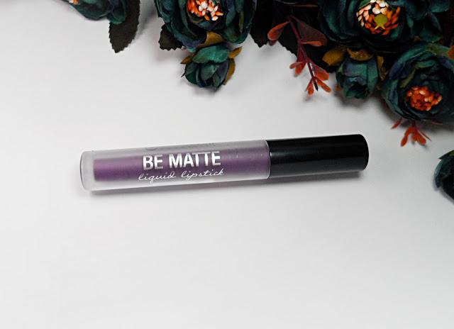 matte dark purple lipstick how to january girl beauty makeup blogger