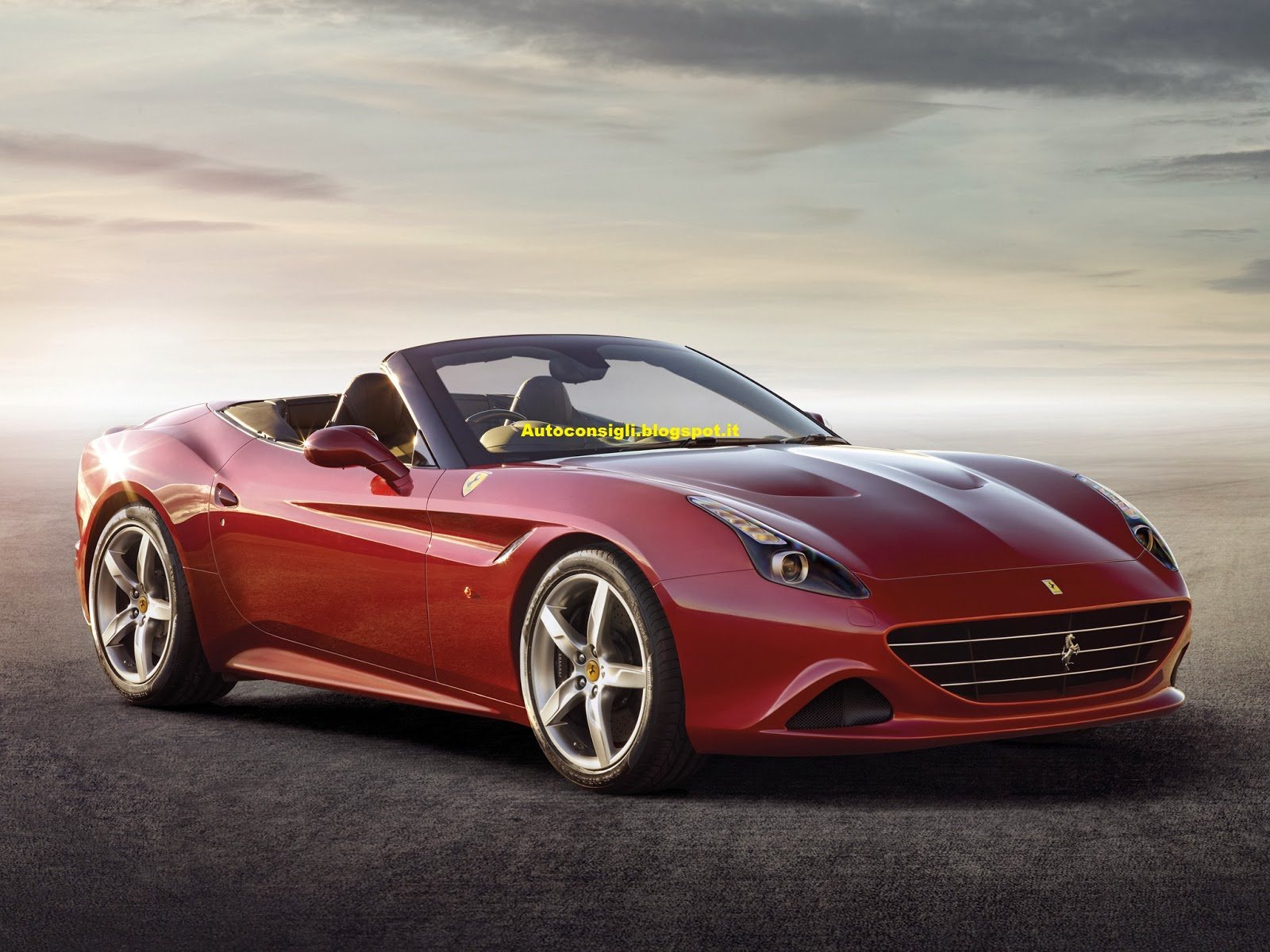 Car al Top 33: Ferrari California T 2014: Una bellissima ...
