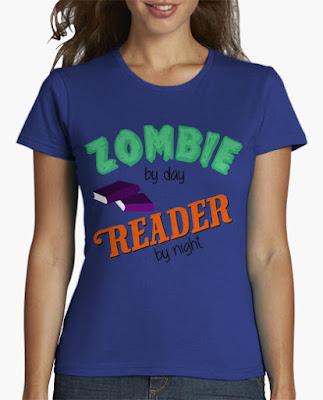 camisetas para lectores