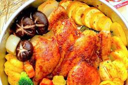 Baked Sambal Chicken