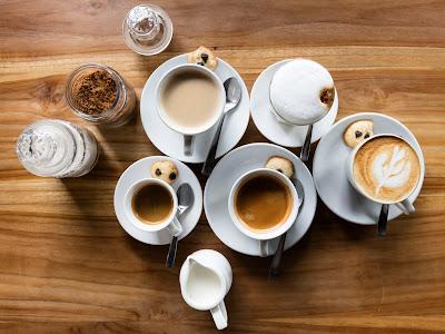 Distintos tipos de preparación de café